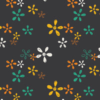 Willful Buds Chalkboard Sisu, Art Gallery Fabrics