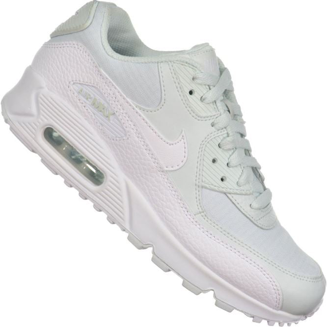 Details about NIKE AIR MAX 90 ESSENTIAL Women's Ghost AquaWhite Runners 325213 419