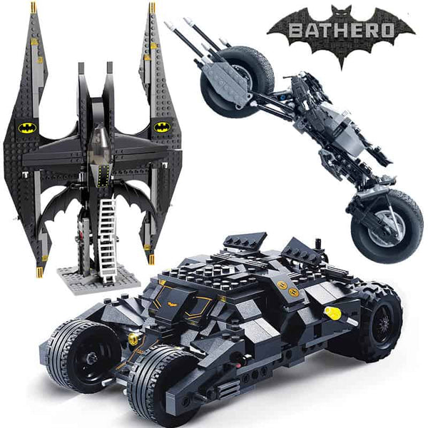 Batman Tumbler BatMobile Batwing Building Blocks - LuLuify.com