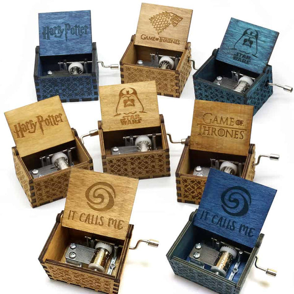 Wooden Music Box - LuLuify.com