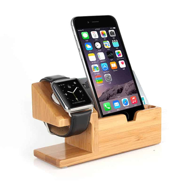 Bamboo Phone Holder - LuLuify.com