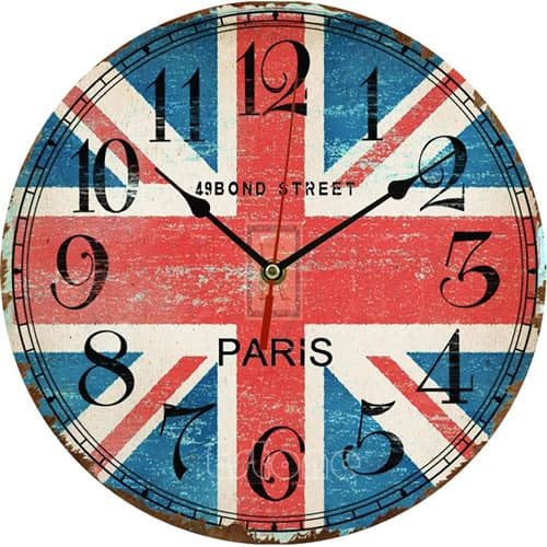 Vintage Wooden Wall Clock - LuLuify.com