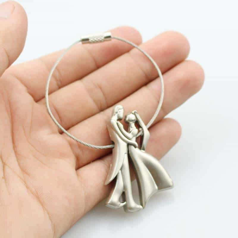Couple Keychain Lovers Key Ring - LuLuify.com