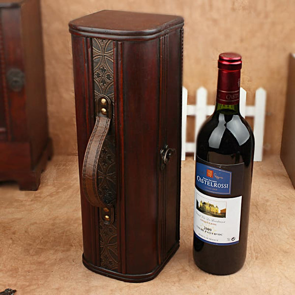 Wine Wood Case Holder - LuLuify.com
