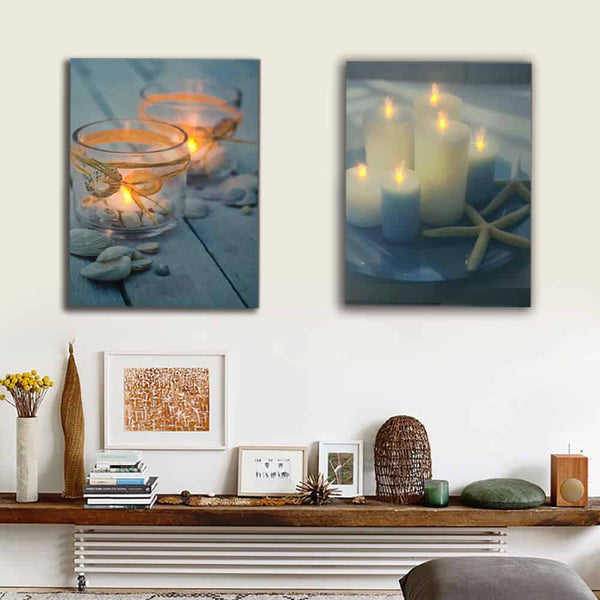 Led Flickering Canvas Wall Art - LuLuify.com