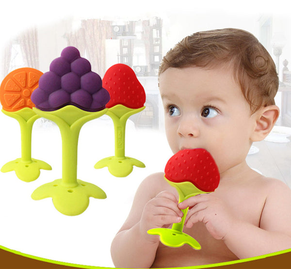 Fruit Shape Infant Teether - LuLuify.com