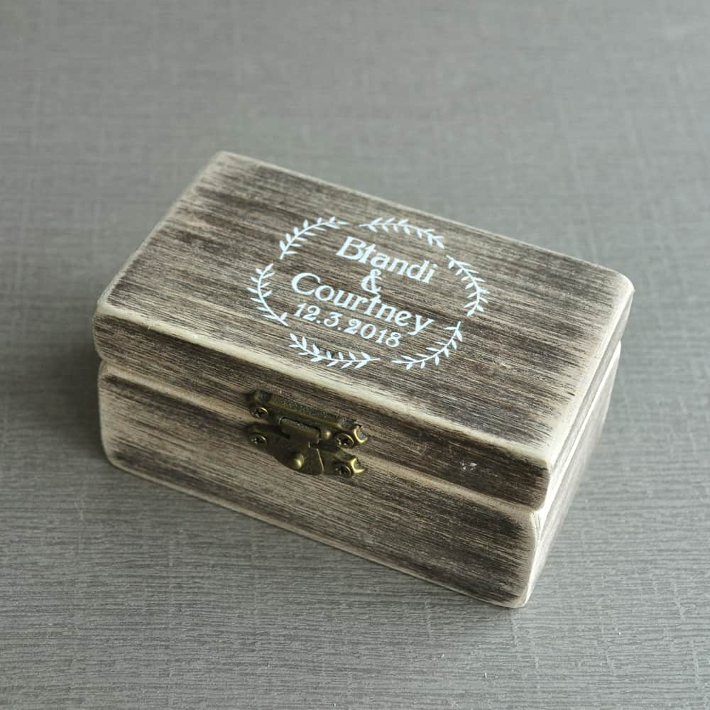 Personalized Ring Box - LuLuify.com