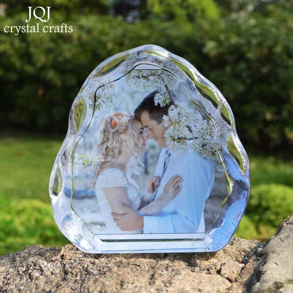 DIY Customized Crystal Wedding Photo Album - LuLuify.com