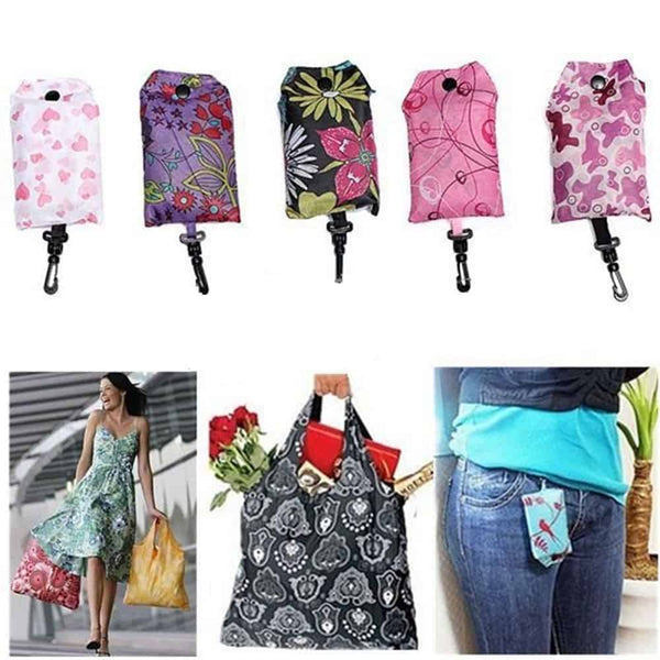 Foldable Handy Shopping Bag - LuLuify.com