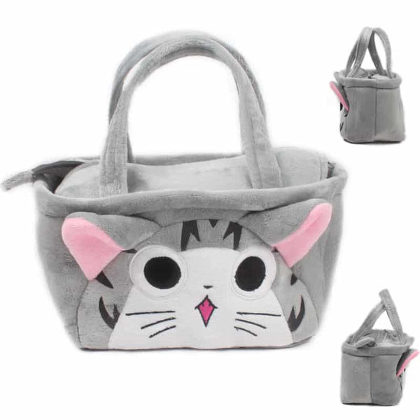 Kawaii 3D Animal Canvas Shoulder Bag - LuLuify.com