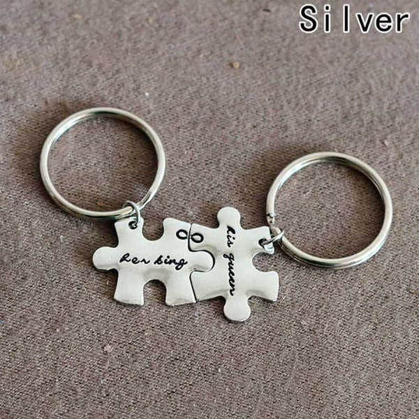 King and Queen Couple Key Chain - LuLuify.com
