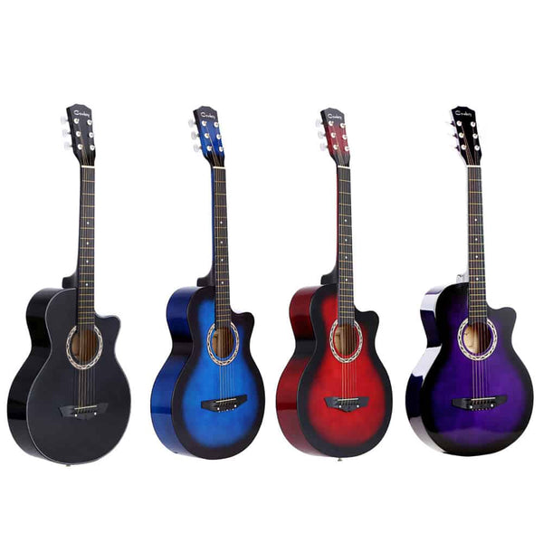"38"" Acoustic Guitar Folk 6-String Guitar for Beginners - LuLuify.com"