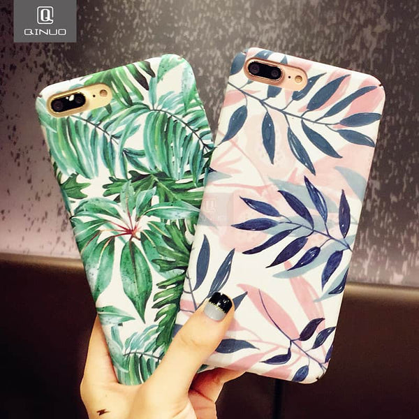 Artistic Leaf Phone Case For iPhone - LuLuify.com