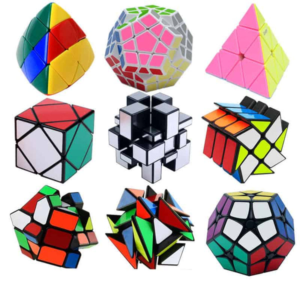 Strange Shape PVC Sticker Magic Cube - LuLuify.com