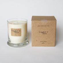Load image into Gallery viewer, AEQUILL Grapefruit & Vetiver Essential Oil Scented Candle