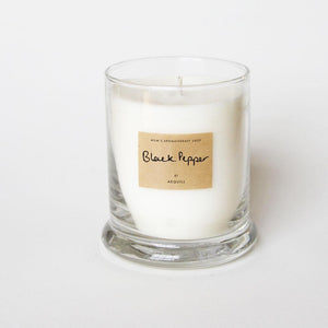 Black Pepper Essential Oil Scented Candle