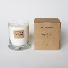Load image into Gallery viewer, AEQUILL Lavender & Marjoram Scented Candle