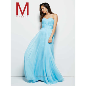 MacDuggal light blue dress, size 2
