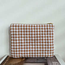 Load image into Gallery viewer, MIKANU BAG - BROWN CHECK