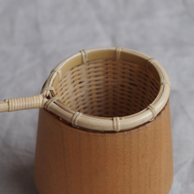 Load image into Gallery viewer, MIKANU BAMBOO TEA STRAINER