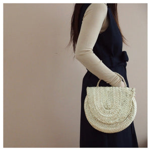 BASKET CLUTCH HANDBAG
