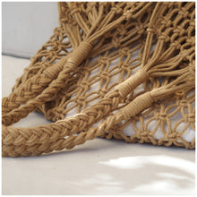 Load image into Gallery viewer, MIKANU HAND CROCHET SHOPPER