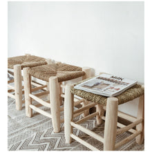 Load image into Gallery viewer, MIKANU MOROCCAN STOOL