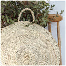 Load image into Gallery viewer, MIKANU ROUND BASKET BAG