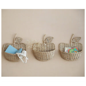 MIKANU APPLE WALL BASKET