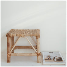 Load image into Gallery viewer, MIKANU BAMBOO STOOL - SURI