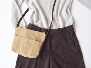 Waxed Canvas Bag small