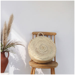 MIKANU ROUND BASKET BAG