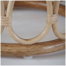 Load image into Gallery viewer, MIKANU RATTAN STOOL  / COFFEE TABLE