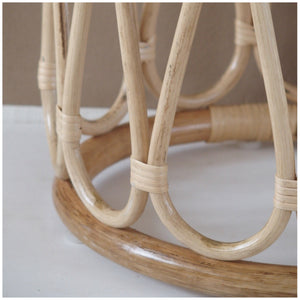 MIKANU RATTAN STOOL  / COFFEE TABLE
