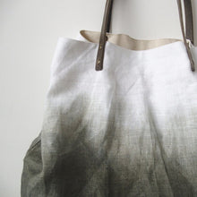 Load image into Gallery viewer, Linen Handbag inked