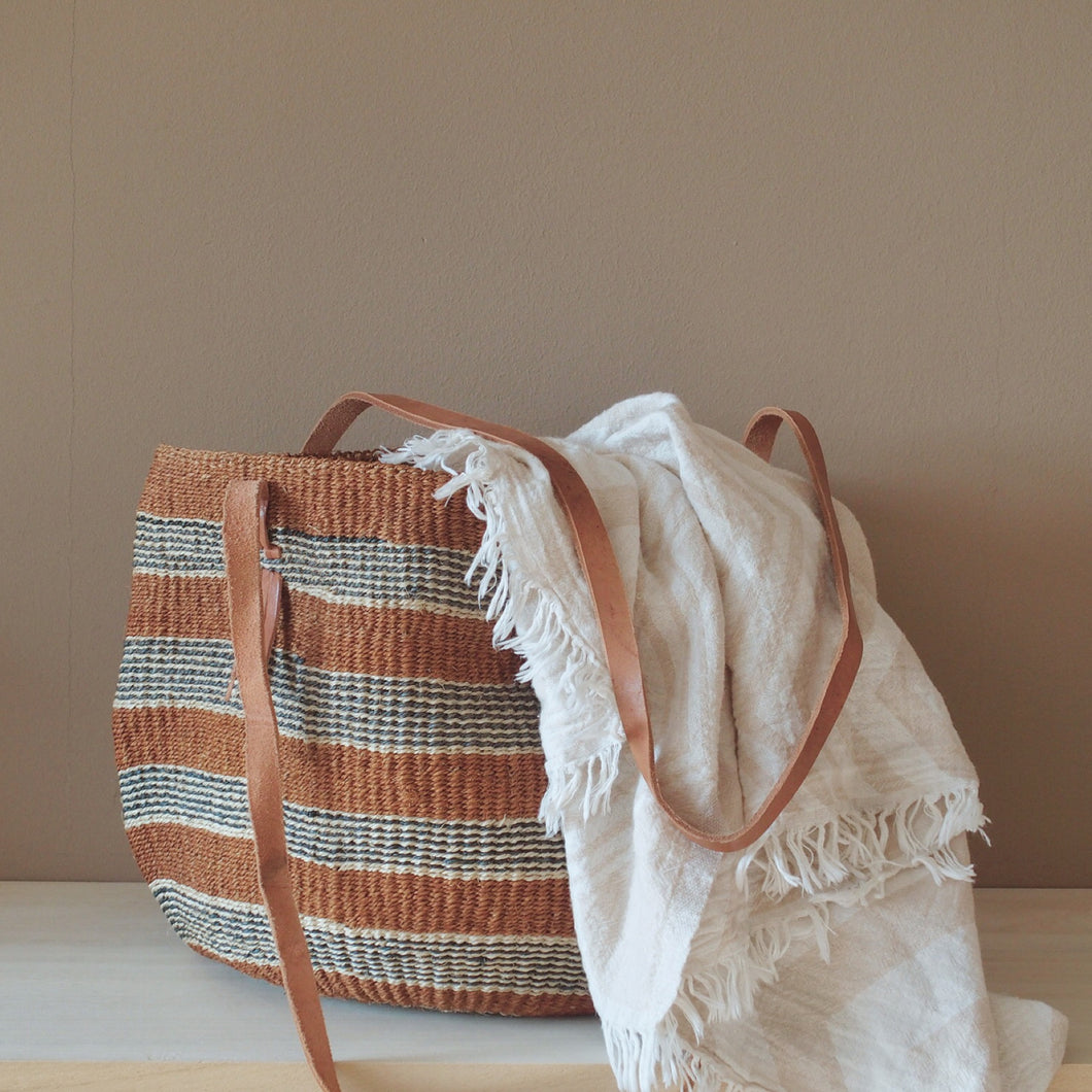 MIKANU SINGLE PIECES - SISAL BAG