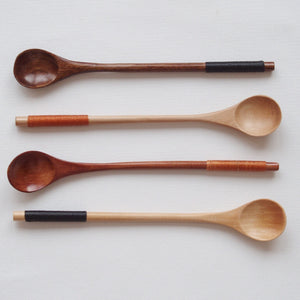 MIKANU WOOD COFFEE SPOON - YUMA