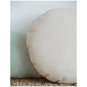 MIKANU ROUND PILLOW - LOUNA