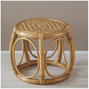 MIKANU BAMBOO STOOL-COFFEE TABLE