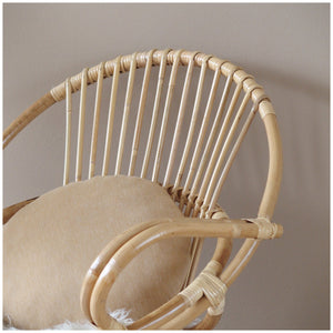 MIKANU ROUND BASKET CHAIR - CECILE