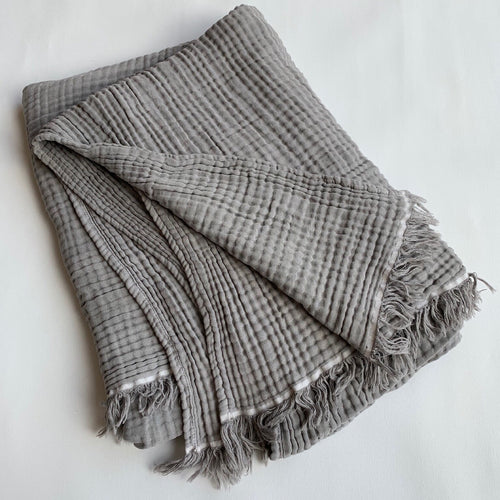 MIKANU SPECIAL OFFER - CRINKLE THROW