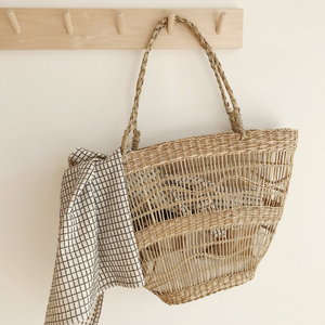 MIKANU LIMITED EDITION  - SEAGRASS  BASKET