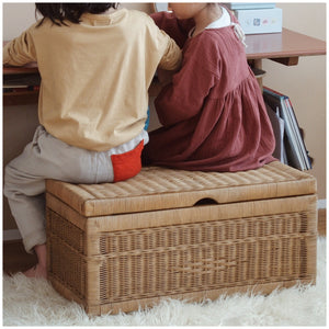 MIKANU RATTAN BOX/BENCH
