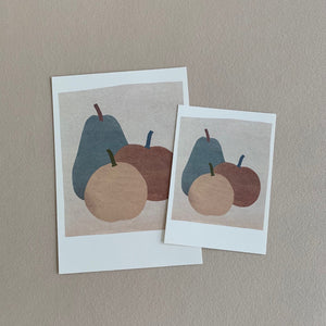 MIKANU GREETING CARD - FRUITS