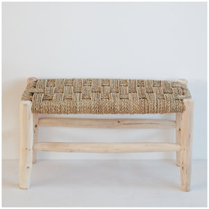 MIKANU BRAIDED BENCH - YANIS