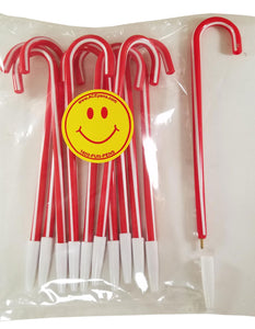 Candy Cane Pens (Pack of 12)