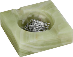 Paper Clip Holder/Ash Tray (Onyx)