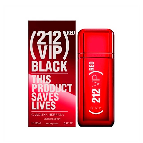 Carolina Herrera 212 VIP Black Red Edition EDP