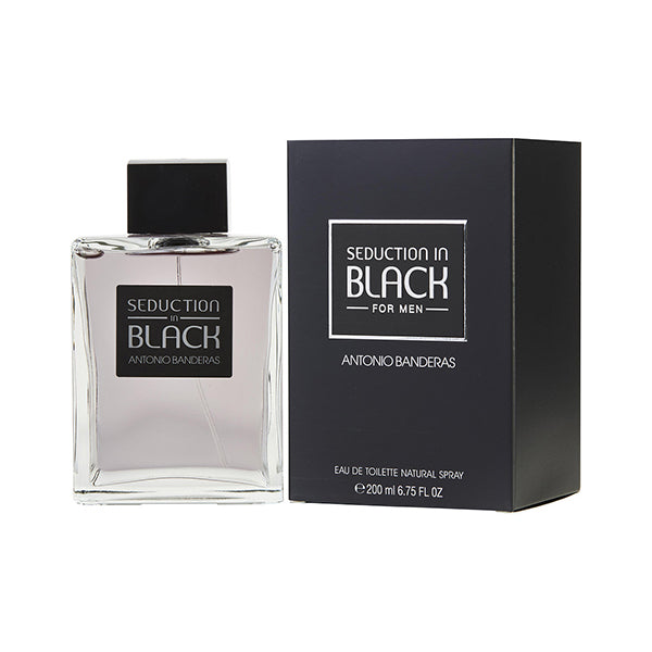 Antonio Banderas Seduction in Black For Men EDT