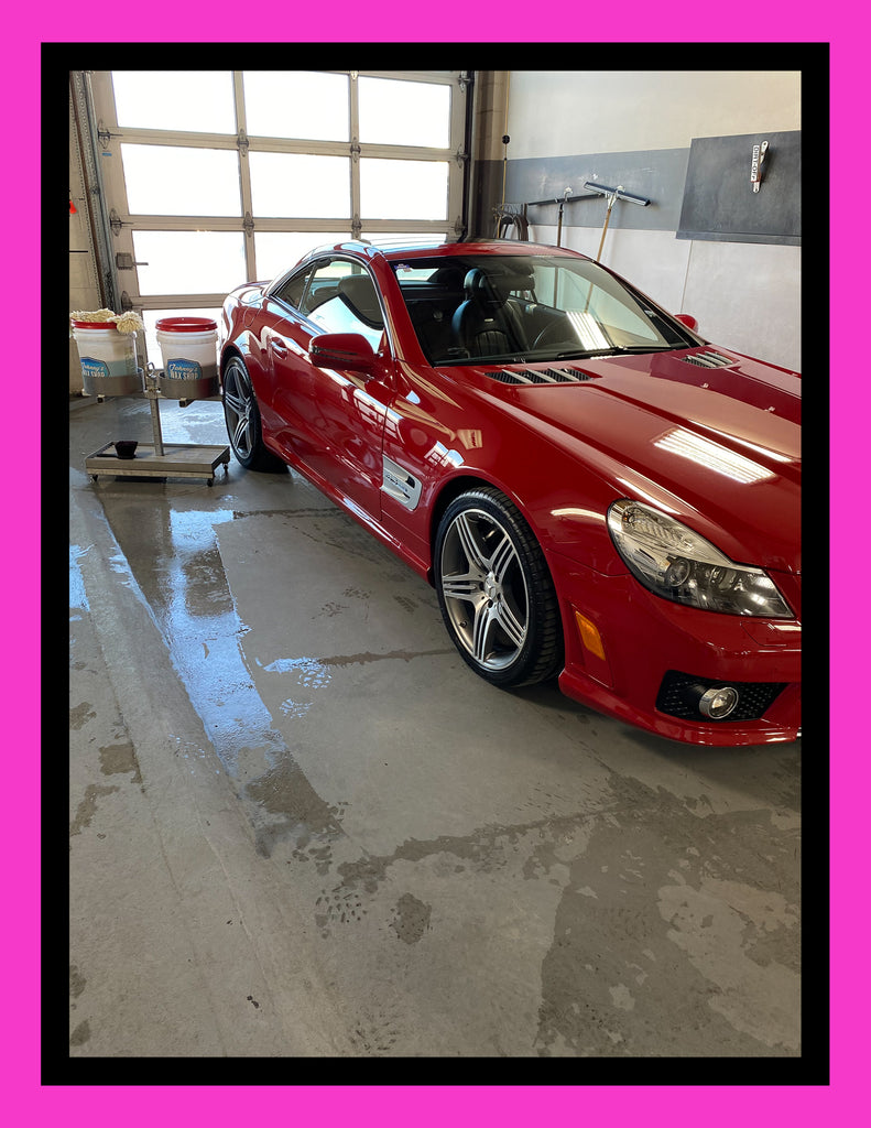 PROJECT - 2011 MERCEDES SL63